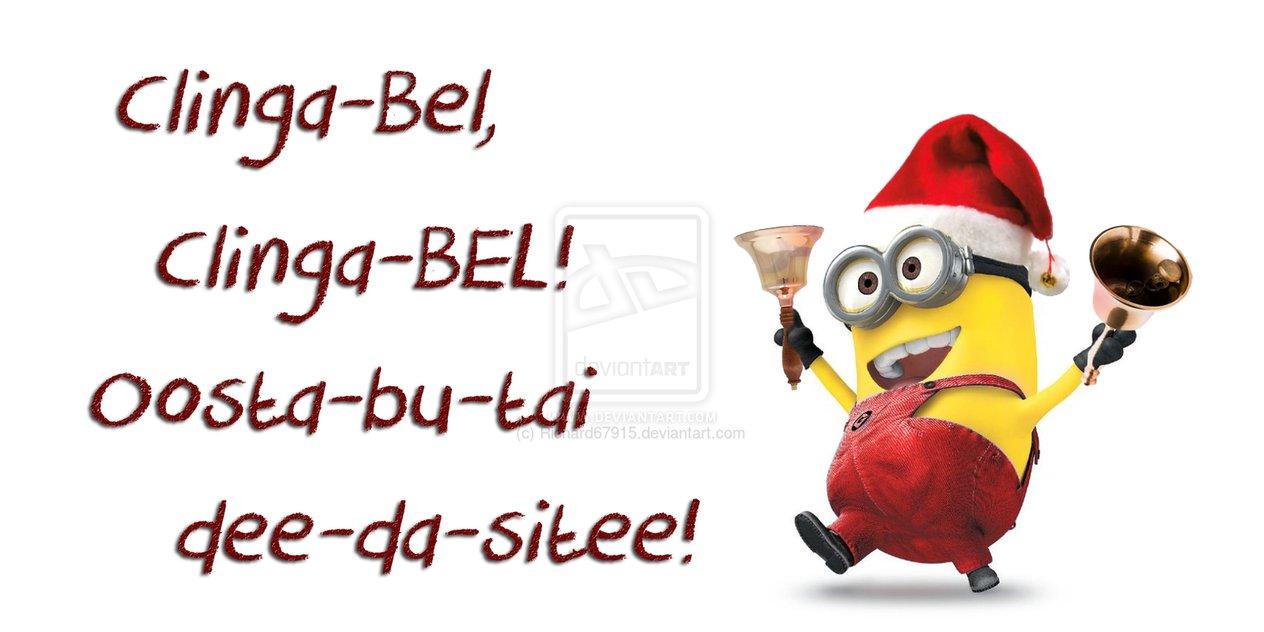 clinga_bel_minion_by - Minion Christmas