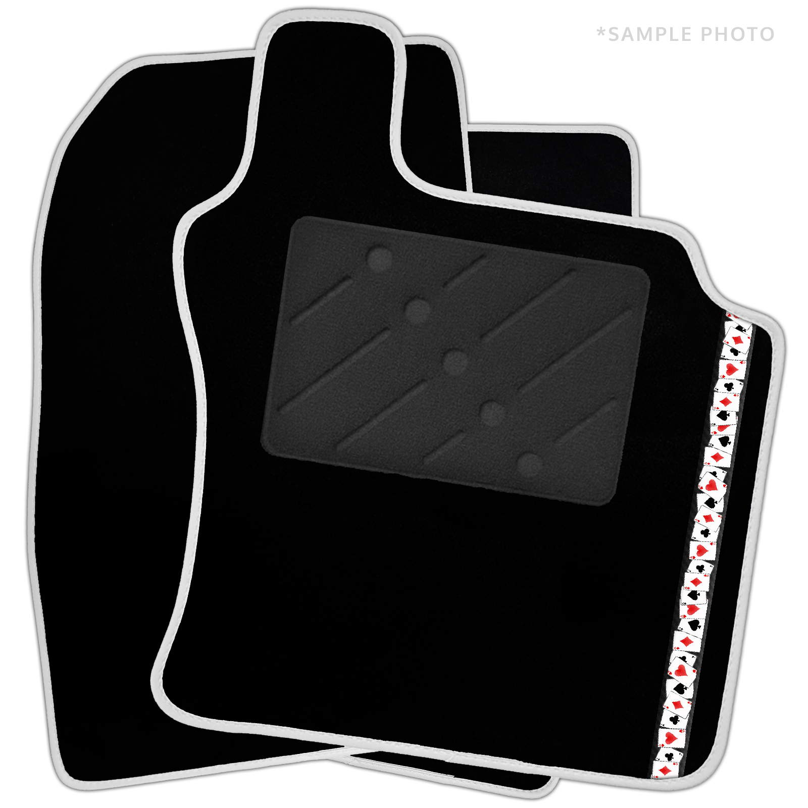 car parts ford street ka 2005 rl2 1.6 - Ford Street Ka (2003 - 2008) Black Car Mats & Retro Logo