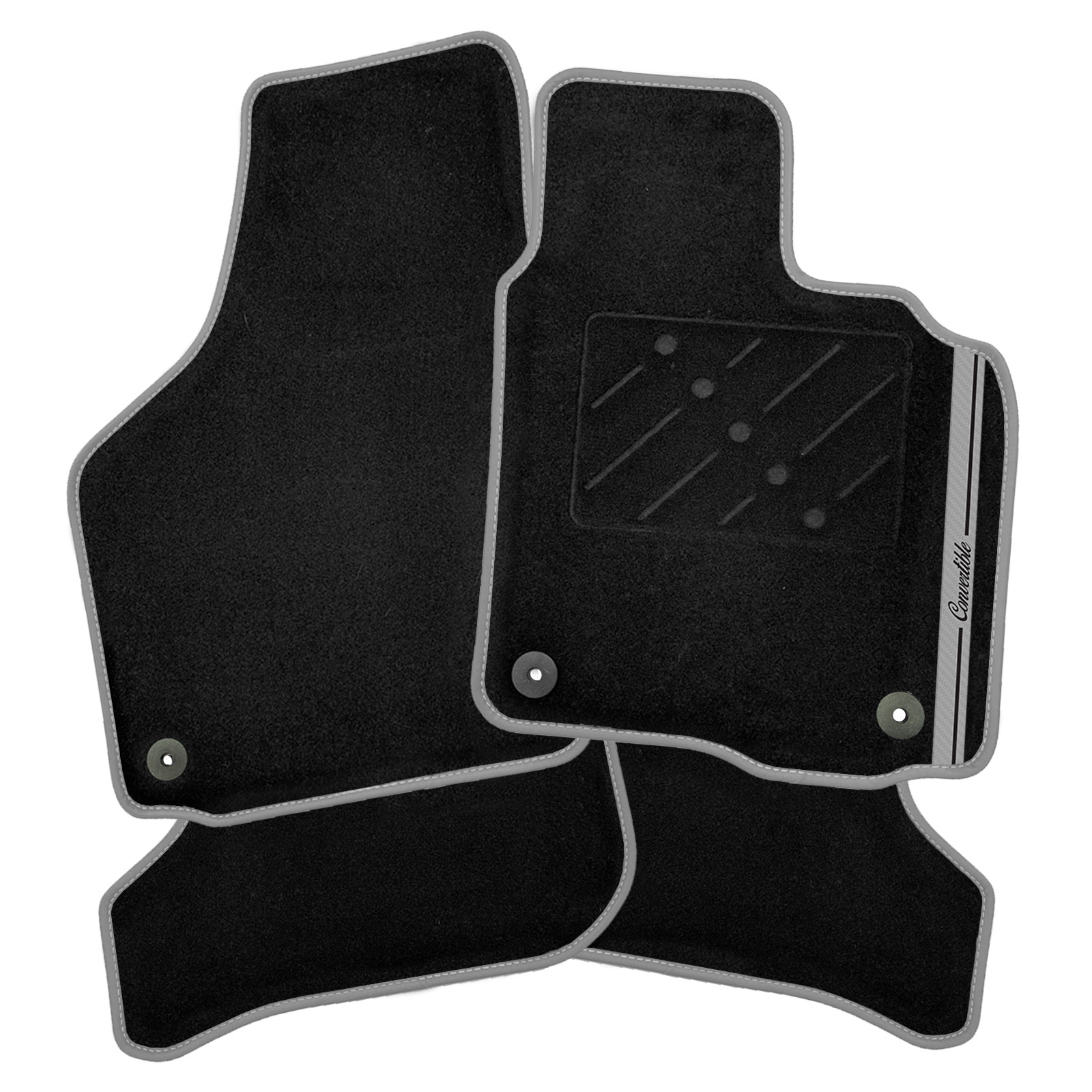 Bentley Continental Gt Convertible 1900 Gray For Sale: Bentley Continental GTC Convertible 05-11 Car Mats