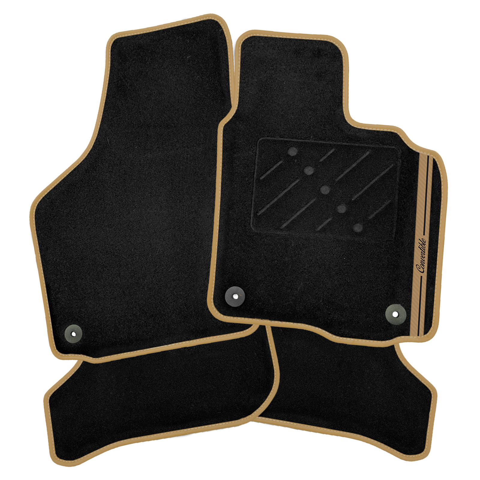 Bentley Continental GTC Convertible 05-11 Car Mats