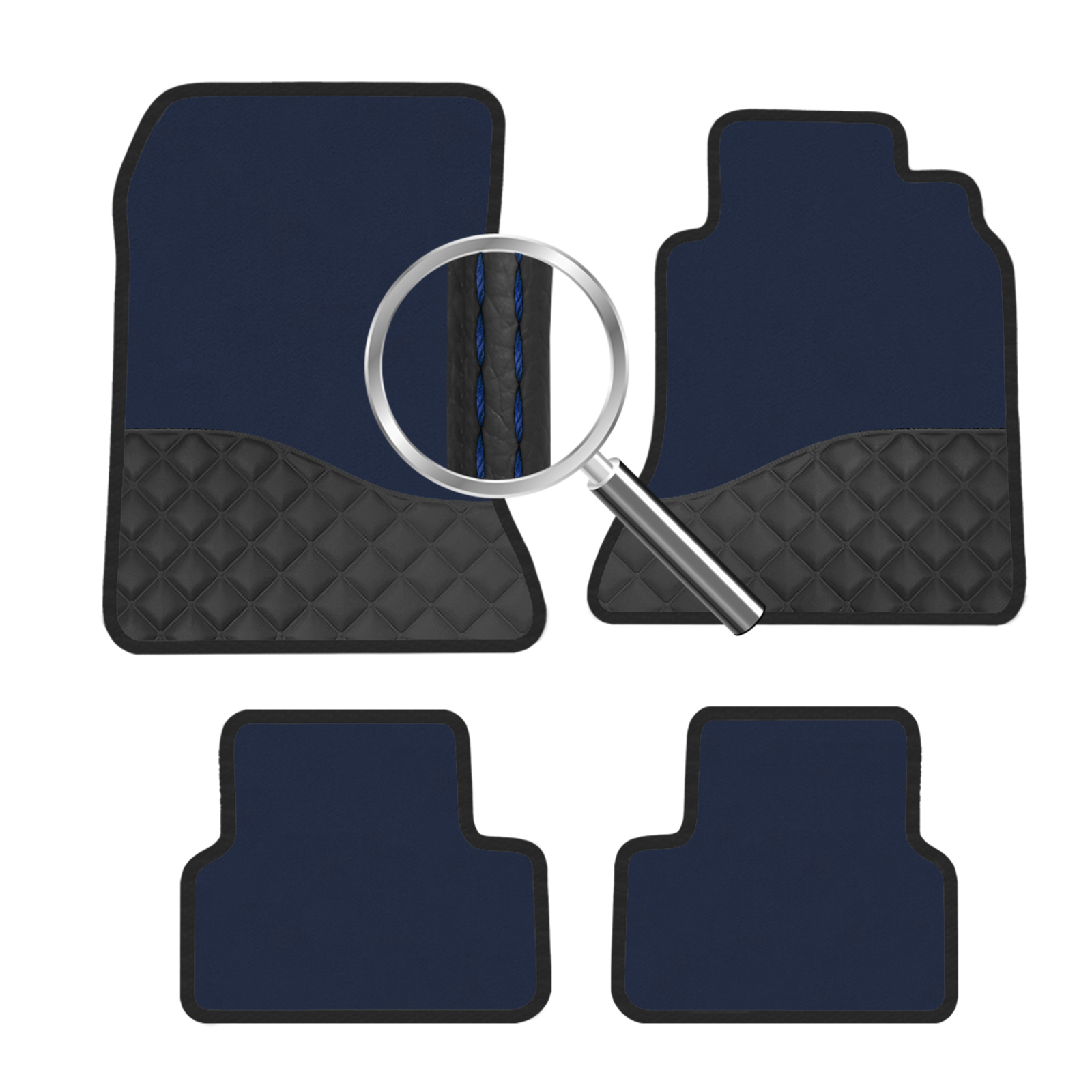 Skoda Yeti  Elite Blue Luxury Car Mats Fw Ebay