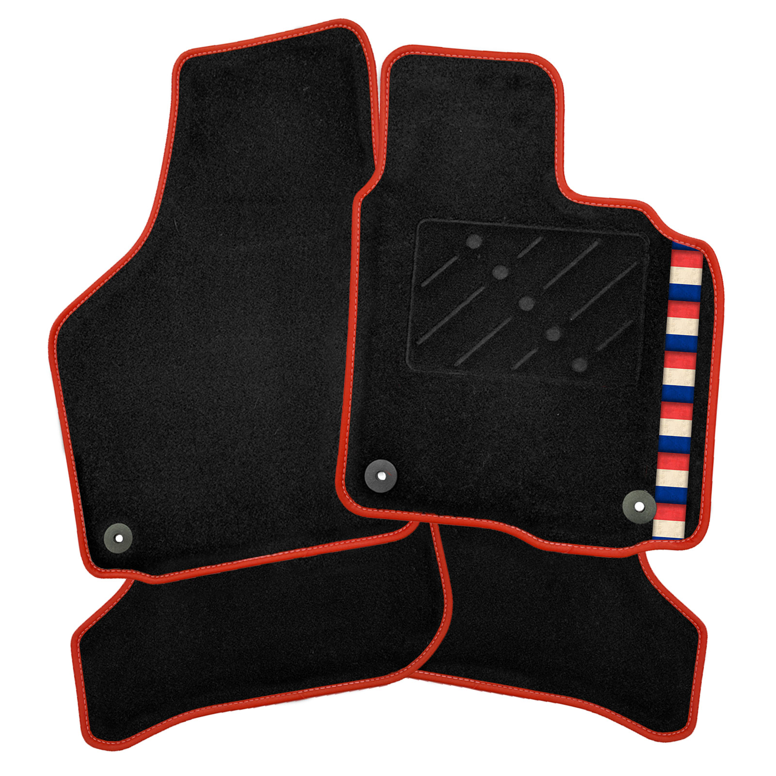 Image is loading Honda-Jazz-2009-2015-Tailored-Car-Mats-French-