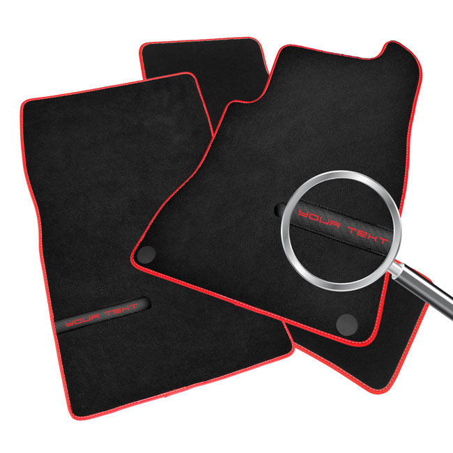 /& Custom Icon Logo Vauxhall Grandland X Car Mats 2017
